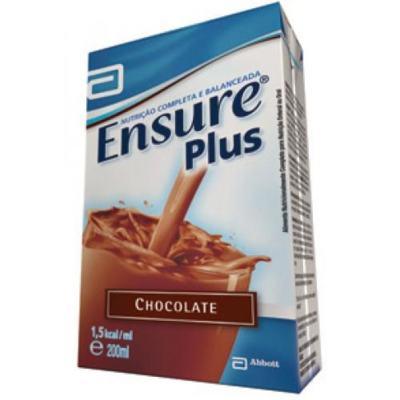 Imagem 1 do produto Ensure Plus Chocolate 200ml