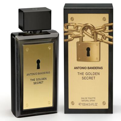 The Golden Secret By Antonio Banderas Eau De Toilette Masculino - 50 ml