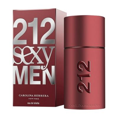 212 Sexy Men De Carolina Herrera Eau De Toilette Masculino - 50 ml