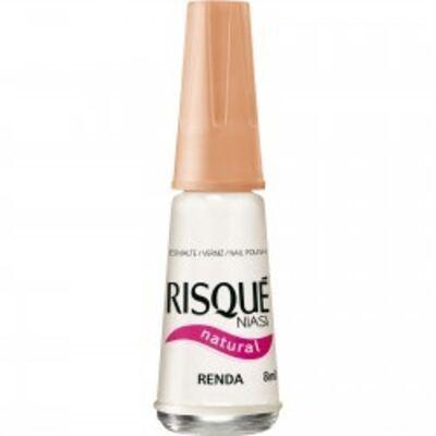 Esmalte Risqué Natural Renda 8ml