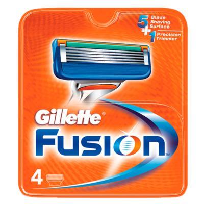 Imagem 1 do produto Gillette Fusion - Lâmina de Barbear - 4 Un