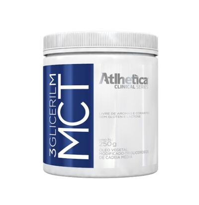 MCT 3 Gliceril M 250G - Atlhetica Clinical