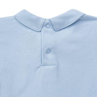Imagem 4 do produto Body longo c/ Calça (Mijão) para bebe em algodão egípcio Chevalier - Petit - 19994167 CONJ BODY ML C/ MIJAO SUED/VISCO URSO-M