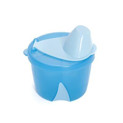 Porta leite em pó para viagem Azul (0m+) -  Clevamama
