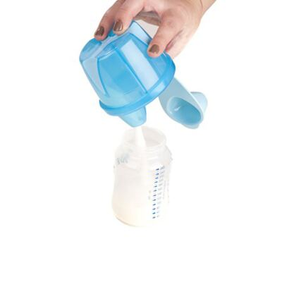 Imagem 3 do produto Porta leite em pó para viagem Azul (0m+) -  Clevamama