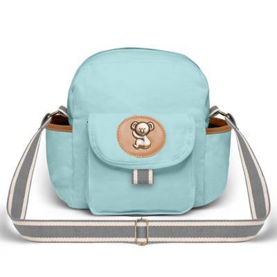 Imagem 3 do produto Bolsa Maternidade para bebe Ibiza + Frasqueira Térmica Toulon + Trocador Portátil em sarja Adventure Azul - Classic for Baby Bags