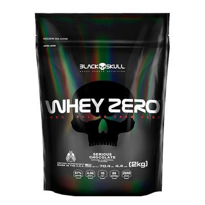 Imagem 1 do produto Whey Zero Refil 4,4Lbs - Black Skull