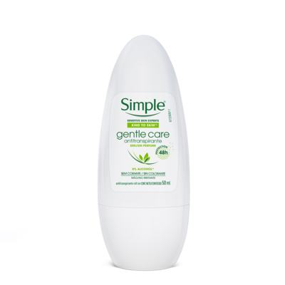 Desodorante Feminino Simple Gentle Care - roll-on | 50mL