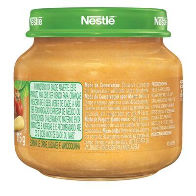 Imagem 2 do produto Papinha Nestlé Carne Cenoura Batata Mandioquinha 115g