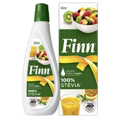 Imagem 2 do produto Adoçante em Gotas Finn Stévia 65ml -