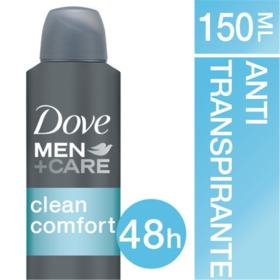 Desodorante Dove Men + Care Clean Comfort - Aerosol | 150mL