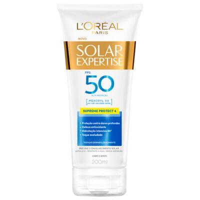 Imagem 1 do produto Protetor Solar L'oréal Expertise Supreme Fps 50 200ml
