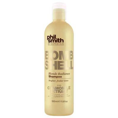 Imagem 1 do produto Shampoo Phil Smith Bom Shell Blonde Radiance 350ml