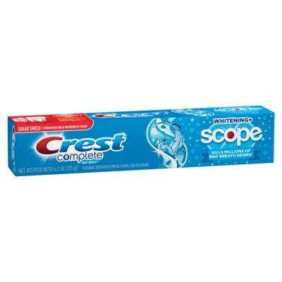 Creme Dental Crest Complete - Multi-Benefit Whitening+ Scope | 175g