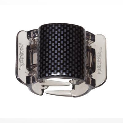 Imagem 3 do produto Prendedor de Cabelos Linziclip Core - Black - Grey Check Gloss