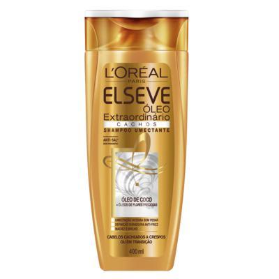Shampoo Elseve - Óleo Extraordinário Cachos | 400ml