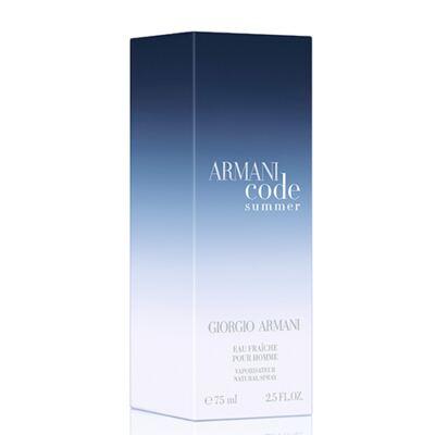 Imagem 2 do produto Armani Code Summer  Giorgio Armani - Perfume Masculino - Eau de Toilette - 75ml
