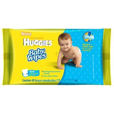 Lenços Umedecidos Baby Wipes 48 unidades