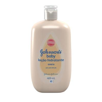 Loção Hidratante Johnson's Baby Aveia 400ml