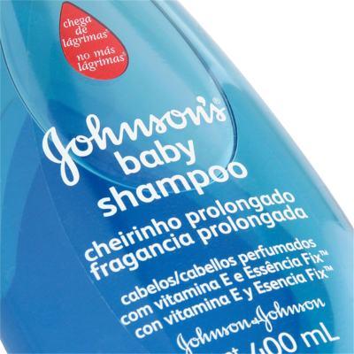 Imagem 3 do produto Shampoo Johnson's Baby Cheirinho Prolongado 400ml