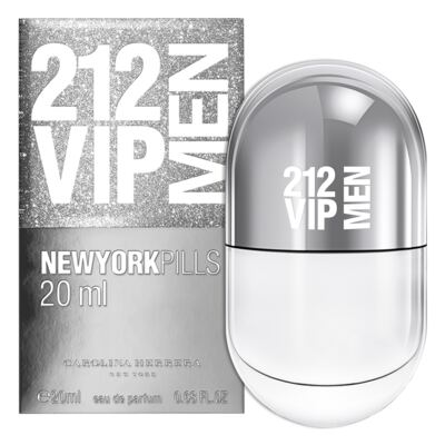 Imagem 2 do produto 212 Vip Men Pills Carolina Herrera - Perfume Masculino - Eau de Toilette - 20ml