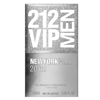 Imagem 3 do produto 212 Vip Men Pills Carolina Herrera - Perfume Masculino - Eau de Toilette - 20ml