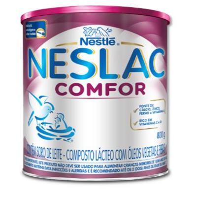 Imagem 2 do produto Composto Lácteo Neslac Comfor - lata, 800g -