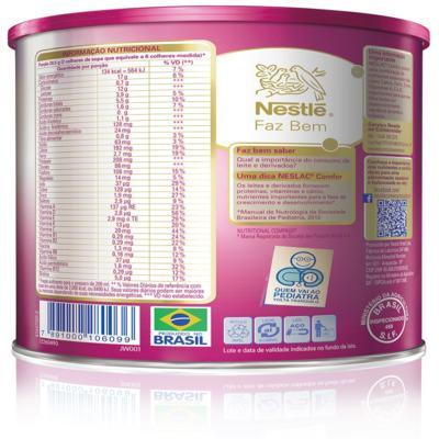 Imagem 4 do produto Composto Lácteo Neslac Comfor - lata, 800g -