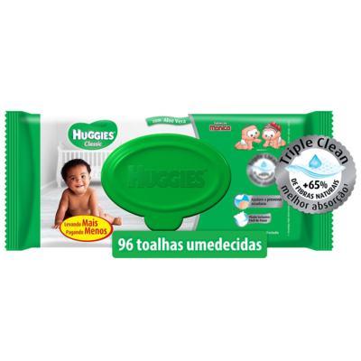 Imagem 1 do produto Lenços Umedecidos Huggies Aloe Vera 96 Unidades