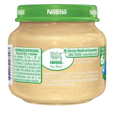 Imagem 3 do produto Papinha Nestlé Banana Aveia 115g