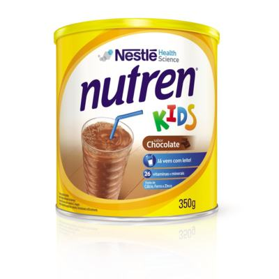 Imagem 2 do produto Suplemento Alimentar Nestlé Nutren Kids Chocolate 350g -