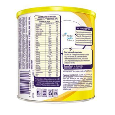 Imagem 4 do produto Suplemento Alimentar Nestlé Nutren Kids Chocolate 350g -