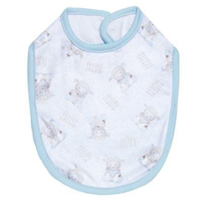 Babador para bebe atoalhado Ovelhinha Azul - Petit