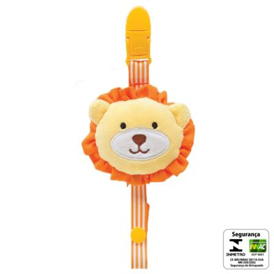 Imagem 2 do produto Prendedor de Chupeta Safari Leãozinho (3m+) - Buba