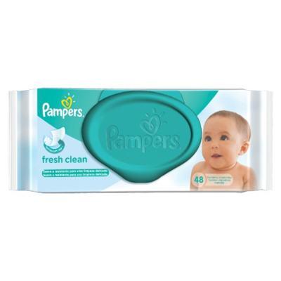 Imagem 3 do produto Kit Pampers Fralda Descartável Confort Sec M 80 Unidades + Lenço Umedecido Fresh Clean 48 Unidades