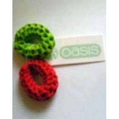 Imagem 1 do produto Elástico para Cabelos Rose Sortido - 2 unidades