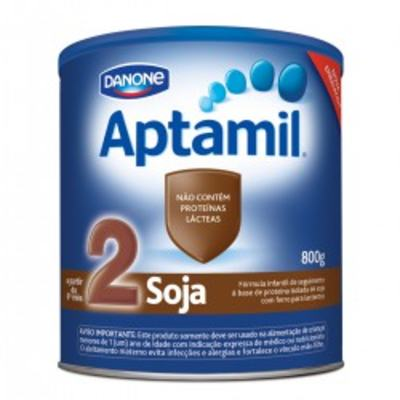 Imagem 1 do produto Fórmula Infantil Aptamil Soja 2 800g