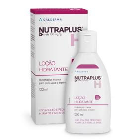 Nutraplus Loção Hidratante Uréia 10% para Pele Seca e Áspera 120ml - 120mL