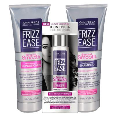 Kit Shampoo + Condicionador + Primer John Frieda Frizz Ease Beyond Smooth Frizz Immunity - Kit