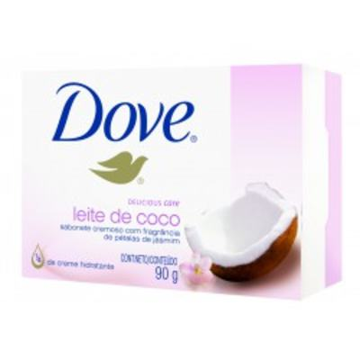 Imagem 1 do produto Sabonete Dove Delicious Care Leite de Côco 90g