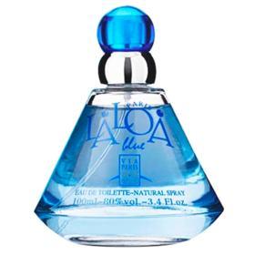 Laloa Blue Via Paris - Perfume Feminino - Eau de Toilette - 100ml