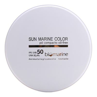 Sun Marine Color Compacto FPS50 Biomarine - Pó Compacto 12g - Bronze