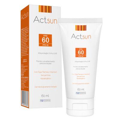 Imagem 1 do produto Protetor Solar Facial Fps60 Actsun - Protetor Solar - 60ml