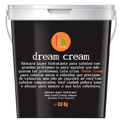 Máscara Super Hidratante Lola - Dream Cream | 3Kg