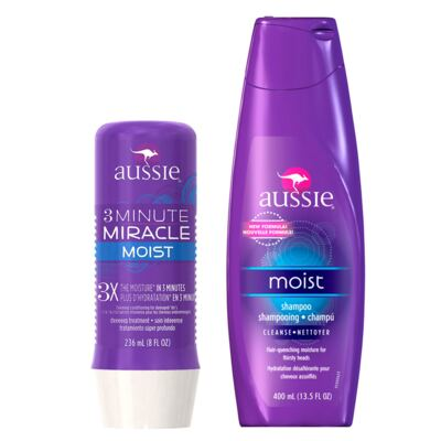 Imagem 1 do produto Kit Shampoo + Máscara de Hidratação Aussie Moist - Kit