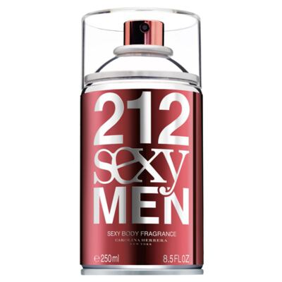 Imagem 1 do produto 212 Sexy Men Carolina Herrera Body Spray - 250ml