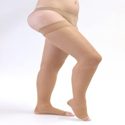 Imagem 2 do produto Meia Coxa 20-30 mmHg Sheer & Soft Medi - NATURAL III PONTEIRA ABERTA
