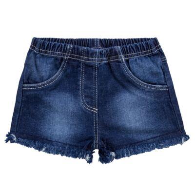 Shorts para bebê jeans Destroyed - Tilly Baby - TB168000 SHORT JEANS FEMININO-GG