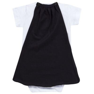 Imagem 5 do produto Body curto c/ Capa para bebe Justiceiro - Reserva Mini - RM23182 MACAQUINHO BB C CAPA PICA PAU JUSTICA-G