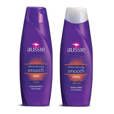 Imagem 1 do produto Kit Aussie Smooth Shampoo 400ml + Condicionador 400ml